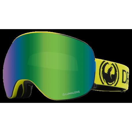 عینک اسکی Dragon مدل X2 Lime