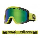 عینک اسکی Dragon مدل D1 OTG Lime